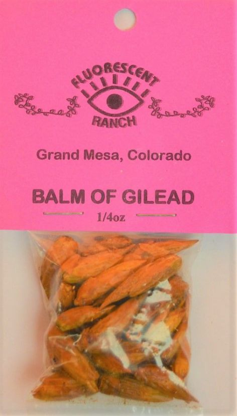 "Balm of Gilead: Loose Bud/Resin Incense (1/4oz bag) by ""Fluorescent Ranch"""